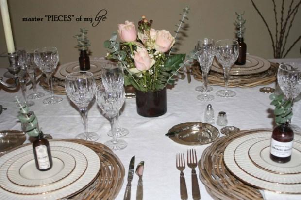 Romantic tablescape for 4-4