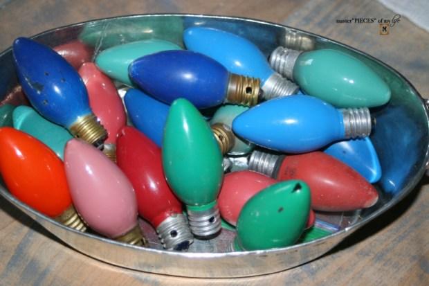 Glitter old fashioned christmas light bulbs2