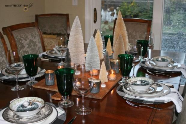 Bottlebrush Christmas tablescape7