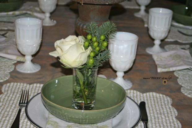 Winter greens tablescape4