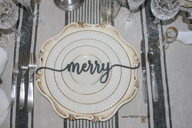 Sentiment Christmas tablescape3