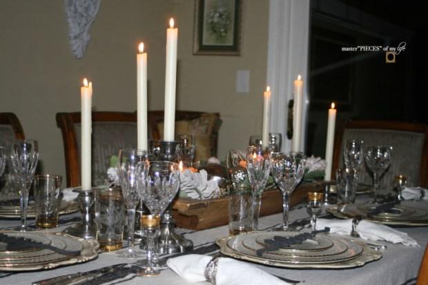 Sentiment Christmas tablescape12