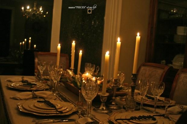 Sentiment Christmas tablescape14