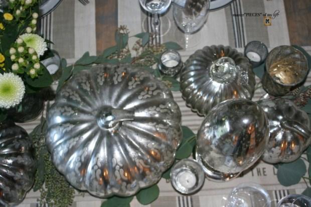 Mercury glass friendsgiving tablescape3