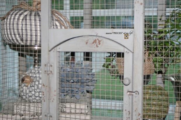 Thru the seasons - ornamental birdcage 1