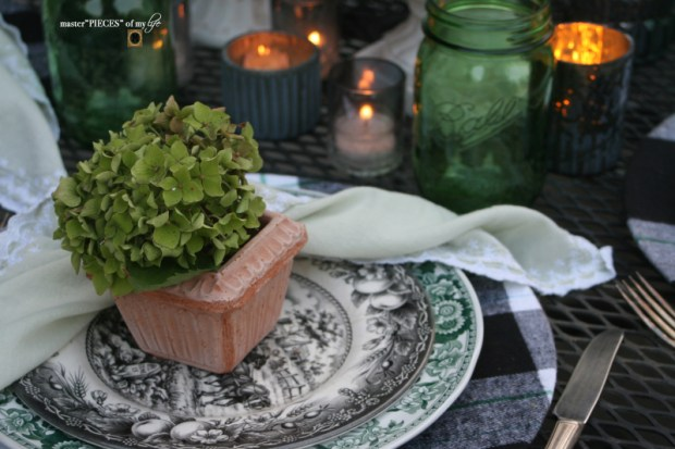 Last day of summer garden tablescape 8
