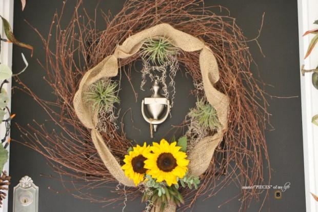 Reindeer moss wreath 6