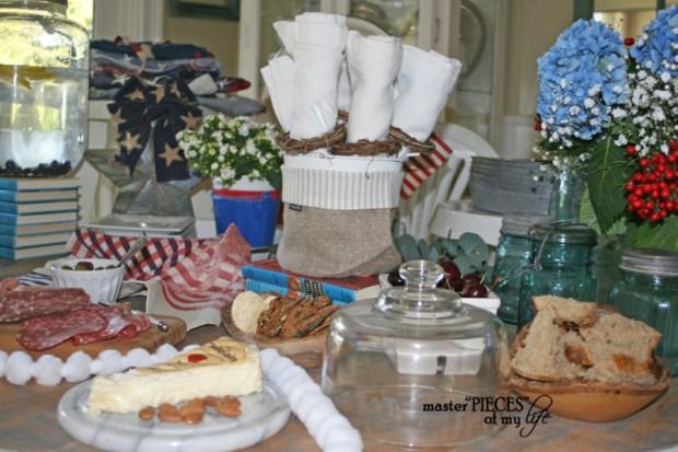 4th of july buffet 6