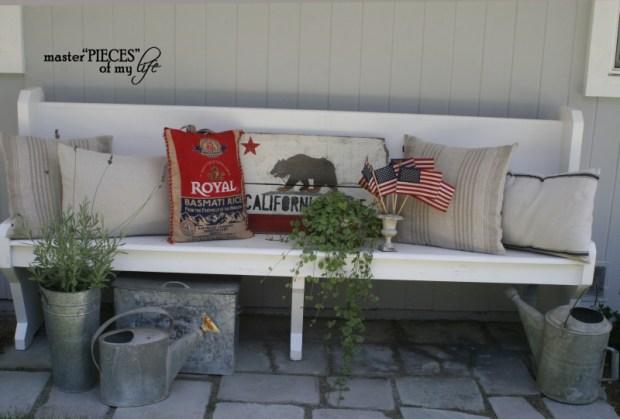 Patriotic decorating detail 6