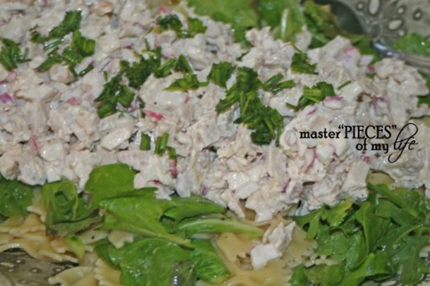 On tthe menu-3 layer salad 2