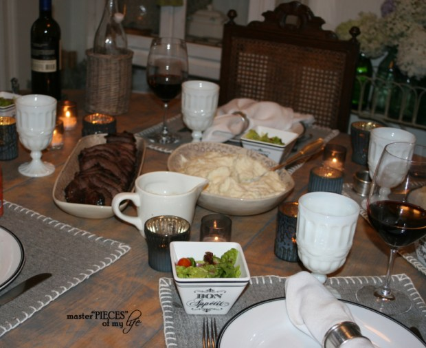 A fathers day tablescape 8