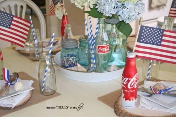 Americana tablescape 4