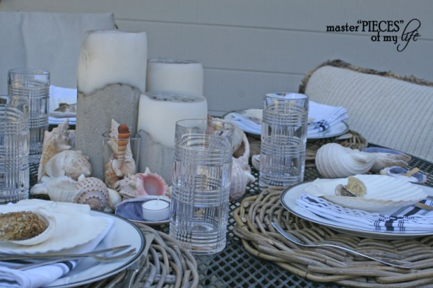 Seashell tablescape 3