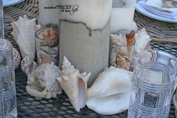 Seashell tablescape 4