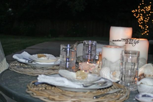 Seashell tablescape 9