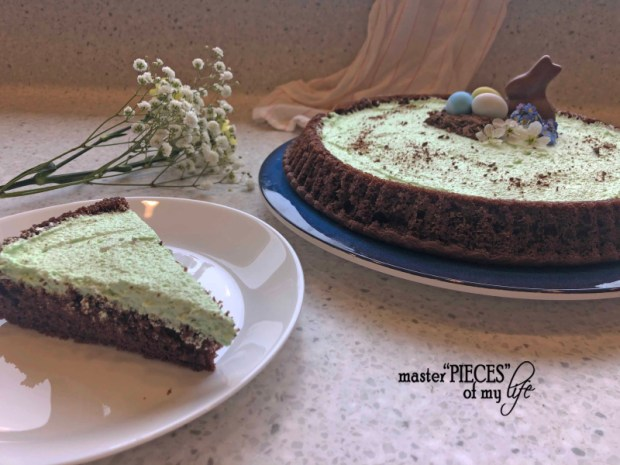Chocolate pistachio cake5