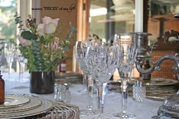 Romantic tablescape for 4-9
