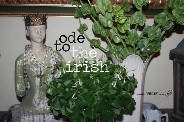 Ode to the irish