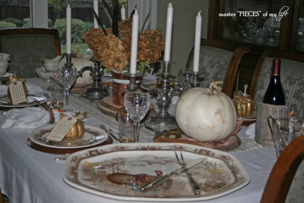 Thanksgiving tablescape mixed metals3
