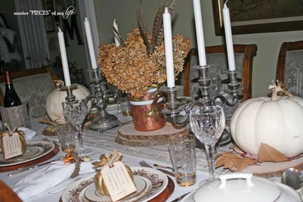 Thanksgiving tablescape mixed metals9
