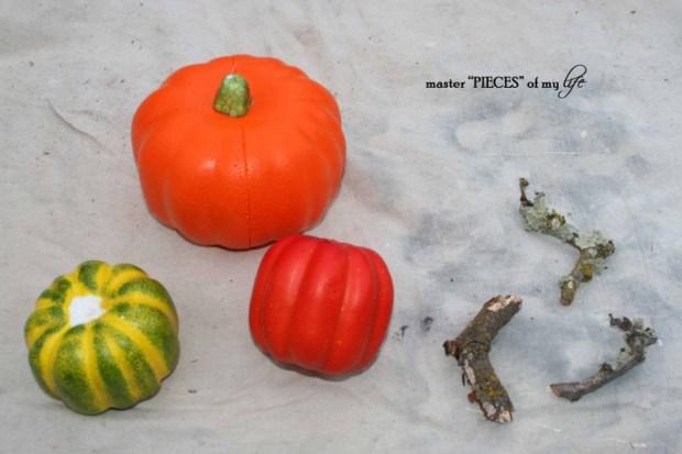 Glitter pumpkins 2