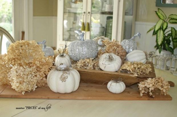 Glitter pumpkins 9
