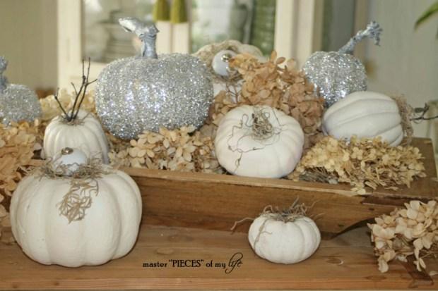 Glitter pumpkins 10