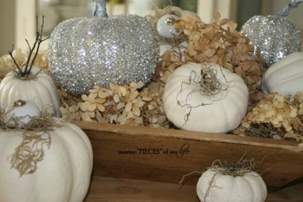 Glitter pumpkins 12