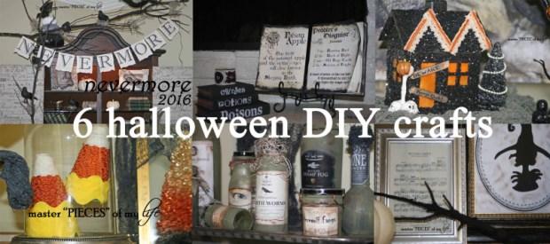 6 halloween DIY crafts