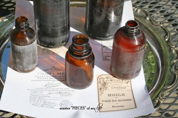 French label bottles 2