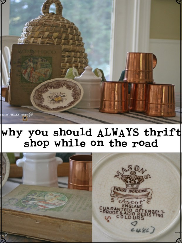 Pinterest why thrift on the road