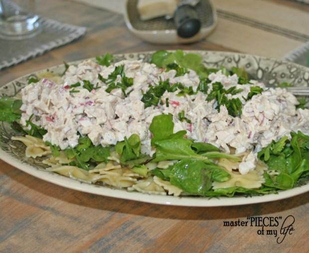 On tthe menu-3 layer salad 1