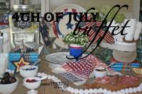 4th of july buffet