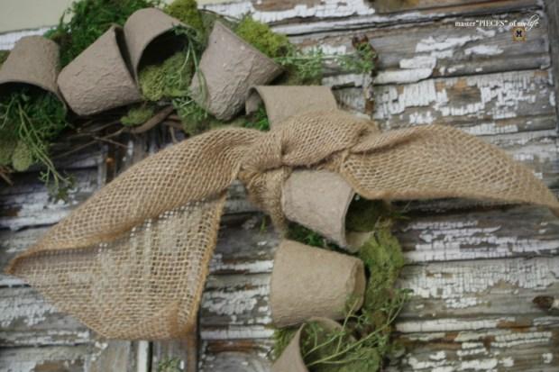 Spring grower pot wreath 9