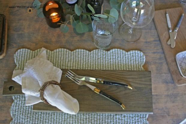 Rustic casual summer tablescape7