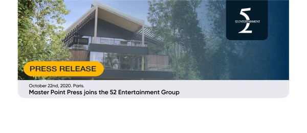 Master Point Press merges with 52 Entertainment!