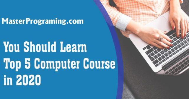 top five computer course