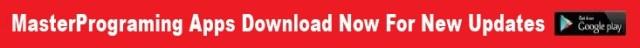 MasterPrograming Apps