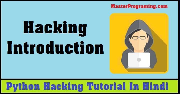 Python hacking tutorial in hindi