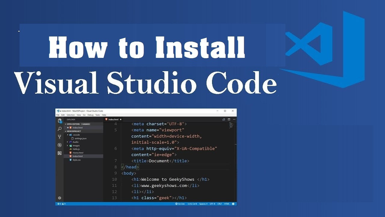 How to Install Visual Studio Code In Hindi