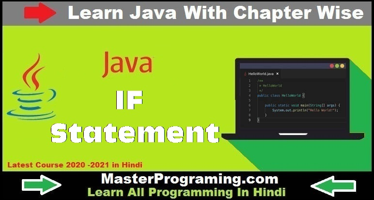 IF Statements in java