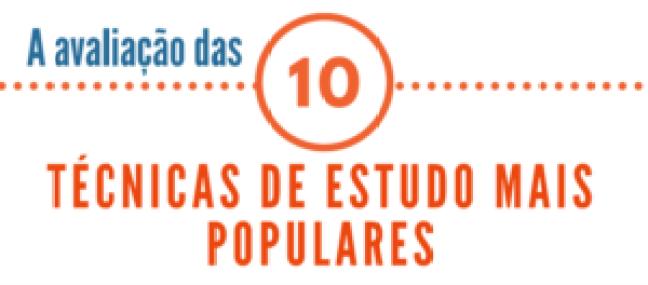 avalicao das 10 tecnicas de estudo mais populares