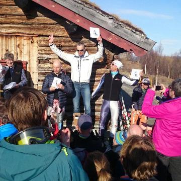 Resultater VeteranNM 2015 Slalåm søndag 12. april