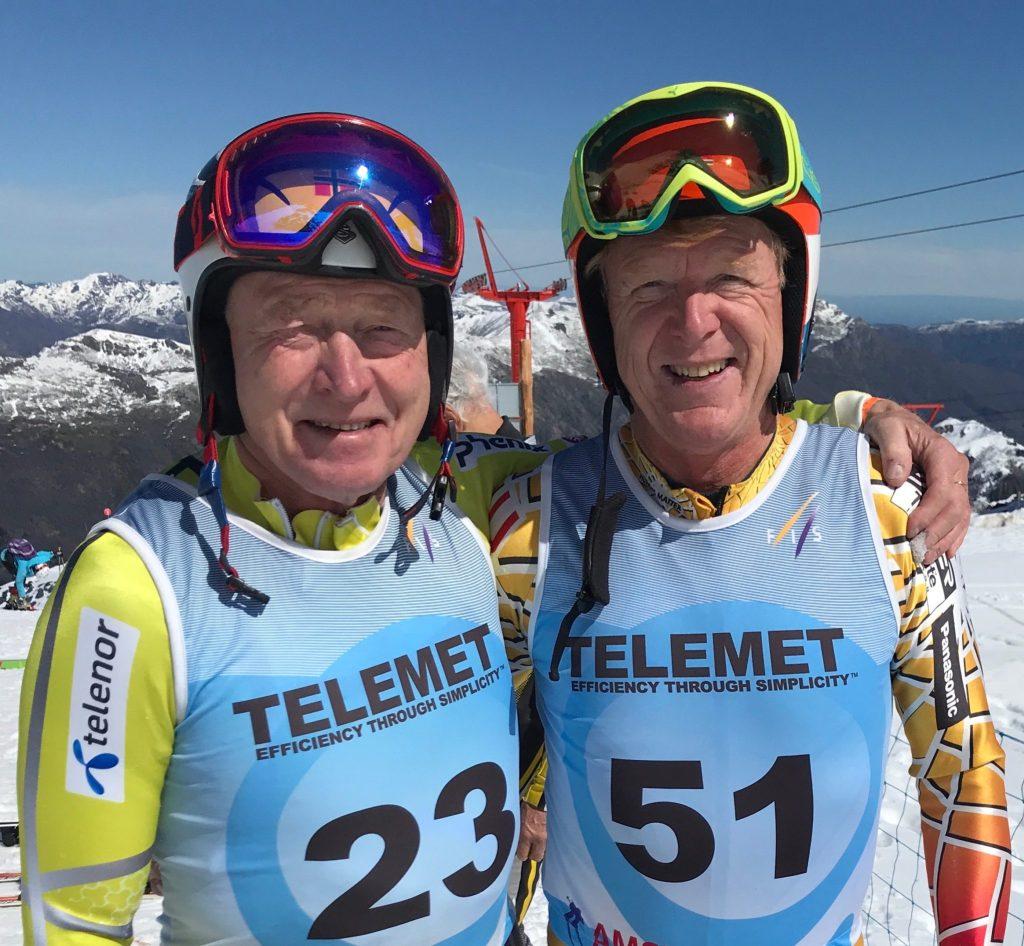 Andreas Dimmen og Kjell Aurmo