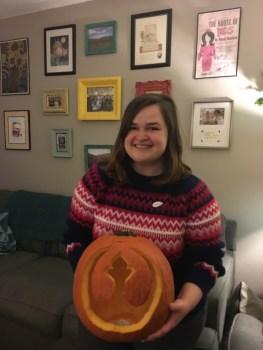 Me and my nerdy pumpkin