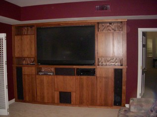 Ash Hardwood Entertainment Unit