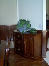 Mahogany Hardwood Cabinet