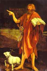 The Prophetic Imagination: A Eulogy for John the Baptist (sermon)