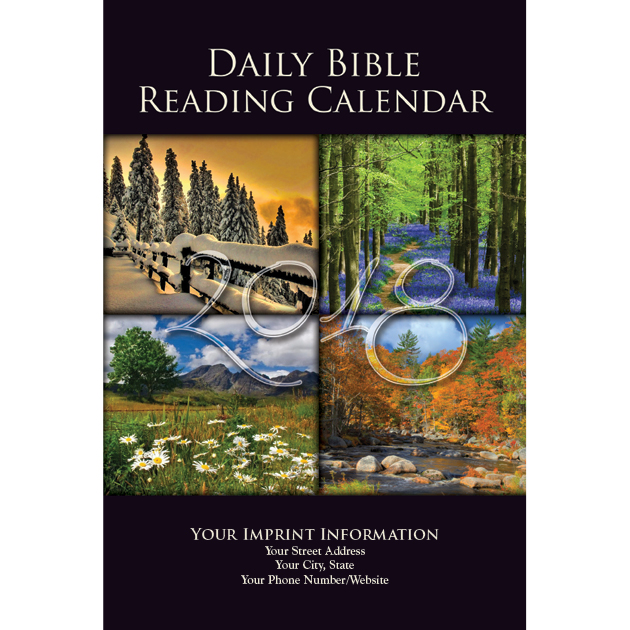 Seasons 2018 Daily Bible Reading Calendar