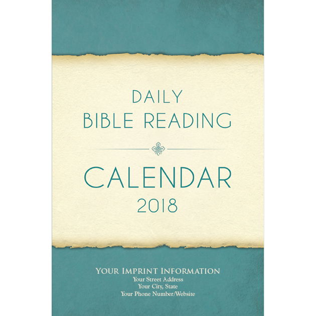 Parchment 2018 Daily Bible Reading Calendar